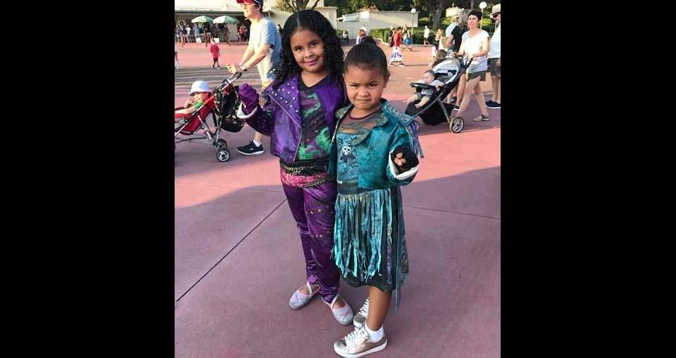 Emanoel, de Tauá (CE), enviou foto das filhas Ana Letycia, de sete anos, e Ana Allycia, de cinco anos