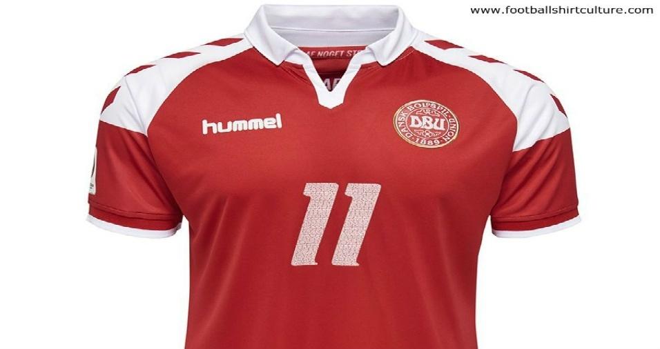 7. Dinamarca - Os dinamarqueses homenagearão a conquista da Euro de 92 com uma camisa retrô