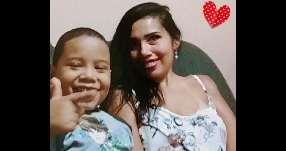 Aline é a mãe do bagunceiro Arthur, de cinco anos, do Rio de Janeiro (RJ)