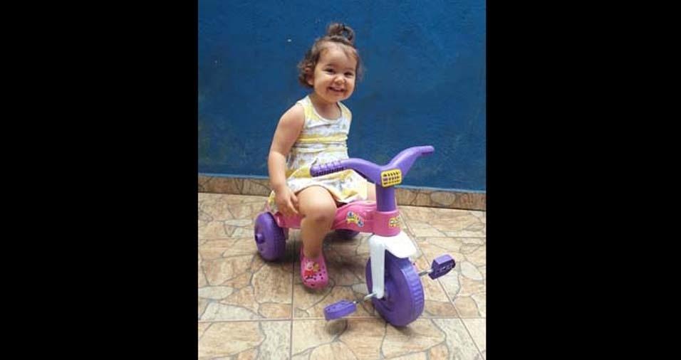 Gerlane enviou foto da princesa Sofia, de São Paulo (SP)
