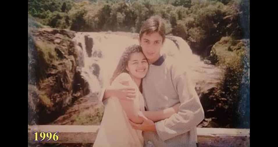 Claudemir Miguel e Damaris Ferreira estavam em lua de mel em Poços de Caldas (MG)