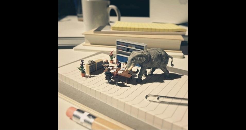 18. A invasão do elefante