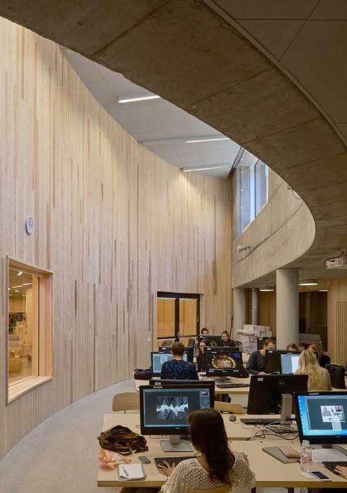 19.fev.2016 - Interior do prédio foi pensado para ser