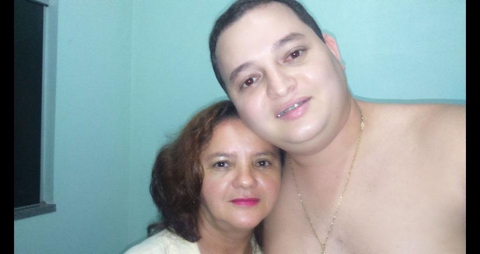 Valdir e a mamãe Ezeni, de Colíder (MT)