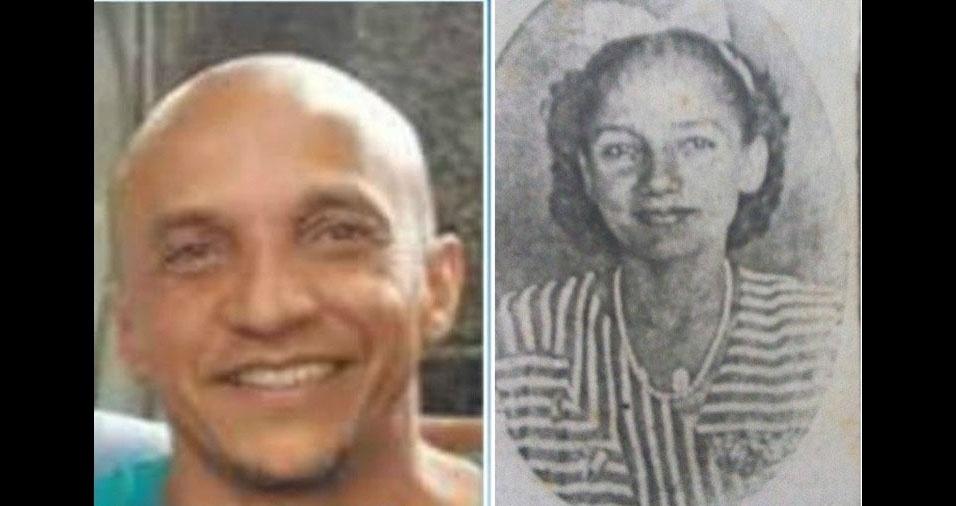 """""""Mesmo estando no céu faço, essa homenagem à senhora mãe, para o Dia das Mães. Eu te amo eternamente"""", declara Osvaldo de Souza, de São Paulo (SP), à mãe Eloiza Maria de Souza"""
