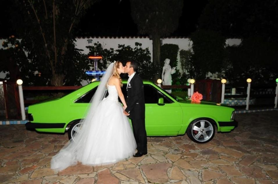 Tatiane Pimentel Carvalho de Lima e Eduardo Carlos de Lima se casaram no dia 3 de dezembro de 2011, na Igreja Nossa Senhora das Graças, de São Paulo (SP)