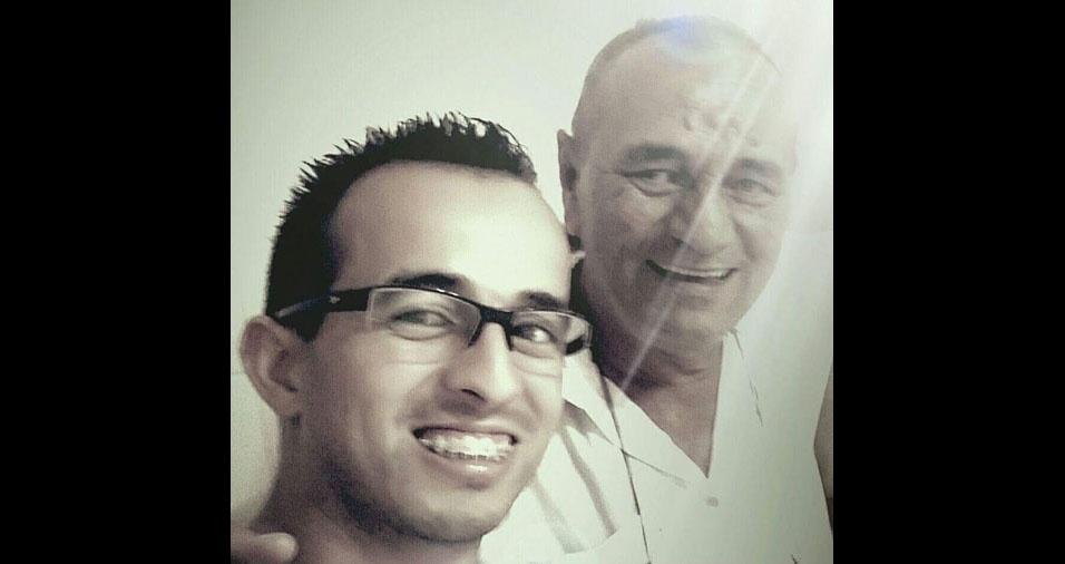 Anderson Moura da Silva homenageou o pai, José Valmir da Silva no especial do BOL