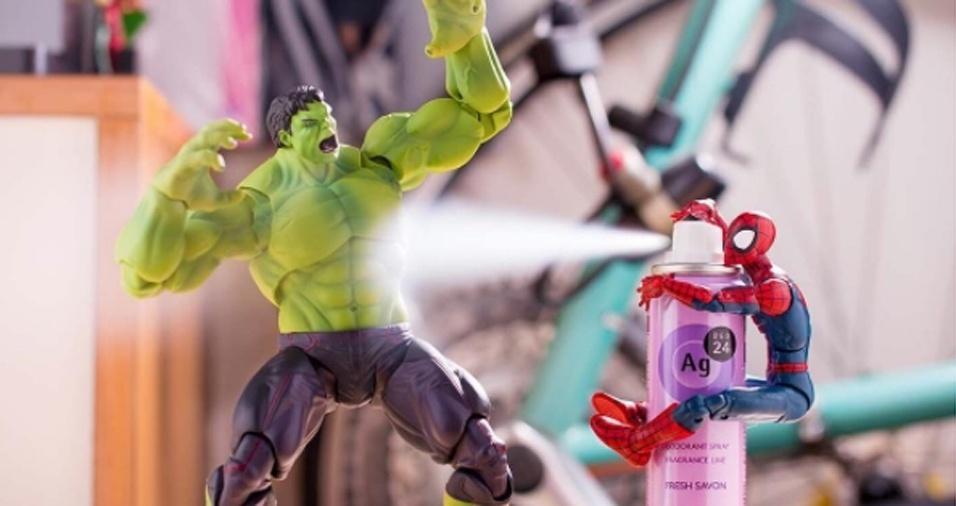 20. Pediria para os amigos ajudarem a passar o desodorante?