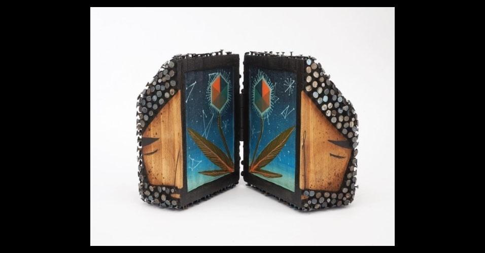 7. Trabalho de Jaime Molina com madeira e pregos