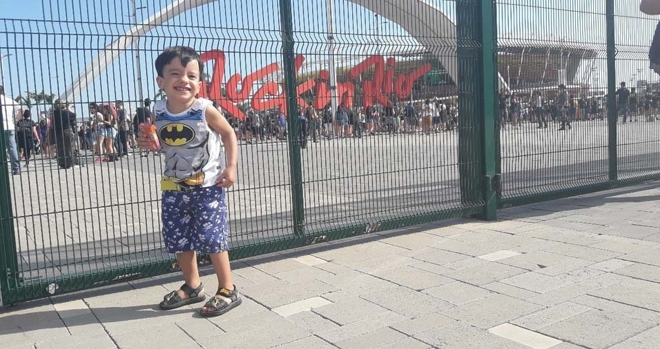 Marlene, de Rio de Janeiro (RJ), enviou foto do filho Thyago, de dois anos