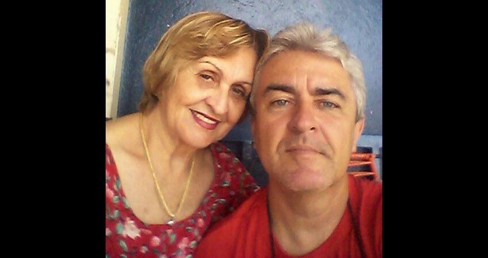 """Ronaldo Tosta, de Goiânia (GO), homenageia sua amada mãe, dona Irene: """"Feliz Dia das Mães!"""""""