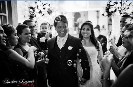 Mateus Nunes e Mônica Almeida Castro Nunes se casaram no dia 25 de setembro de 2015, em Aracaju (SE)