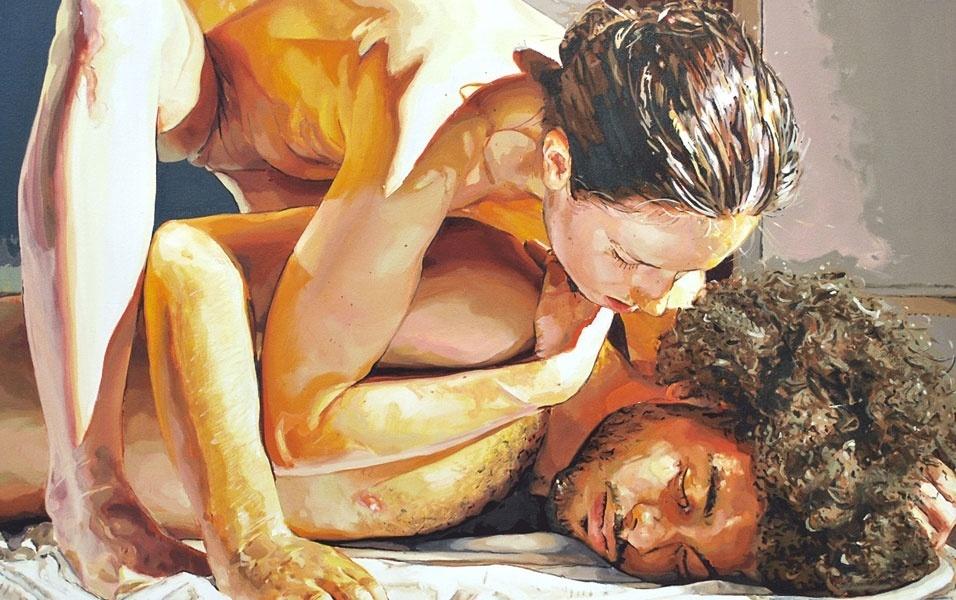 28.jul.2016 - O romance e a paixão são temas constantes nas obras de Patrick Earl Hammie