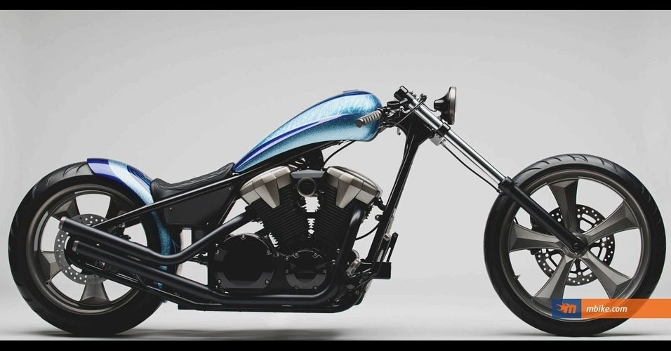 28. Honda Fury Furious Hardtail Chopper