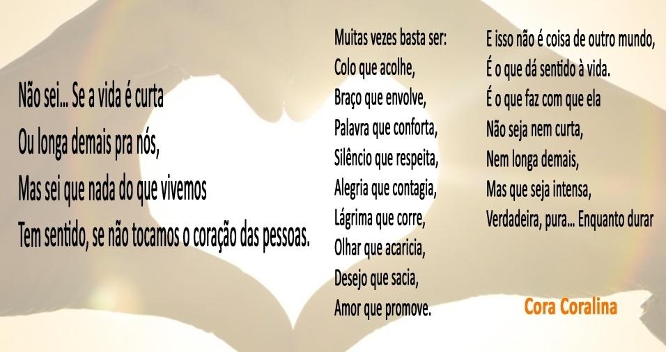 Top 30 frases ou trechos de poemas de Cora Coralina, que faria  VH04