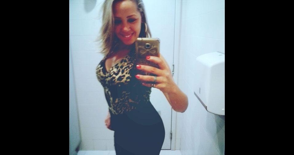 Surabhy Sant'Anna, 30 anos, de Duque de Caxias (RJ)