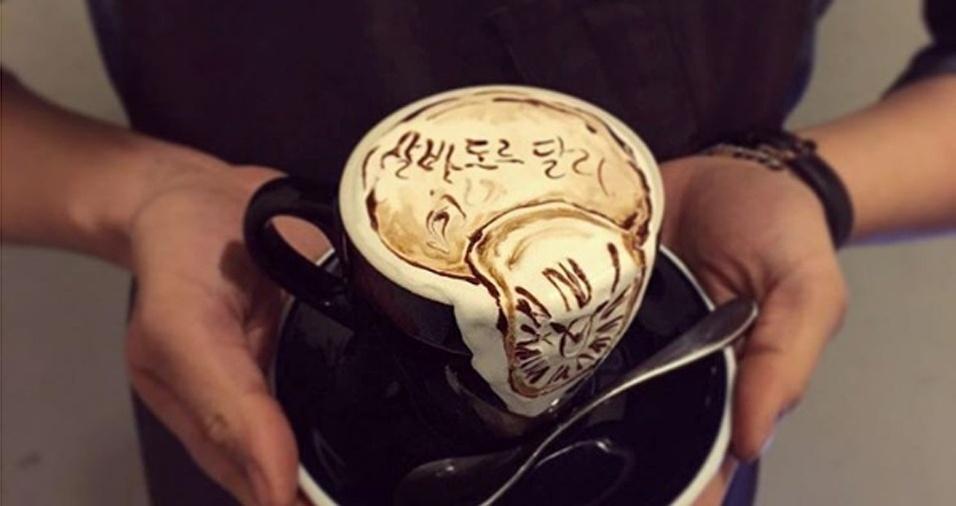 50. Será que Salvador Dalí beberia esse café?