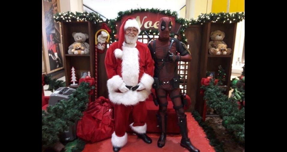 Deadpool e Papai Noel em Taubaté? Aconteceu com Daniel Hilario Rodrigues