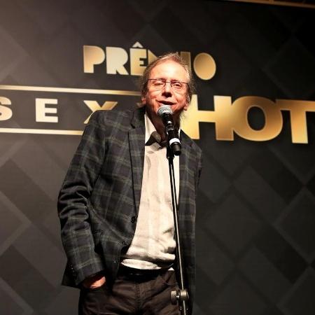 O músico Rogério Skylab durante premiação - Evelso de Freitas/BOL