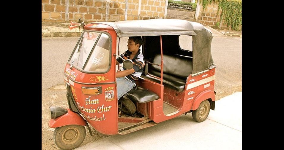 11. Na Nicarágua, Tuc-Tuc são usados como táxis