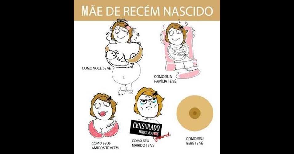 1. Mãe de recém nascido