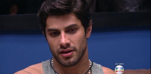 Renan foi o nono participante a deixar a casa - Reprodução/TV Globo