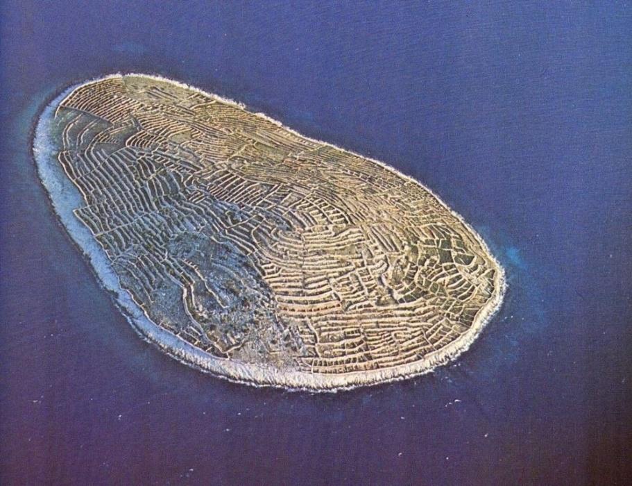 14.mar.2017 - Formato da ilha de Baljanec é semelhante a de impressões digitais de um dedo