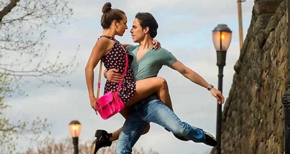 13. Os trabalhos de Jordan mostrando os dançarinos fizeram tanto sucesso que tornaram-se livros