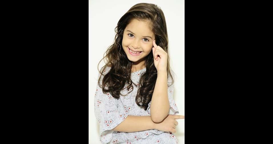 Adriele de Souza é a mamãe da Agnes Ohana, seis anos, de Belém (PA)