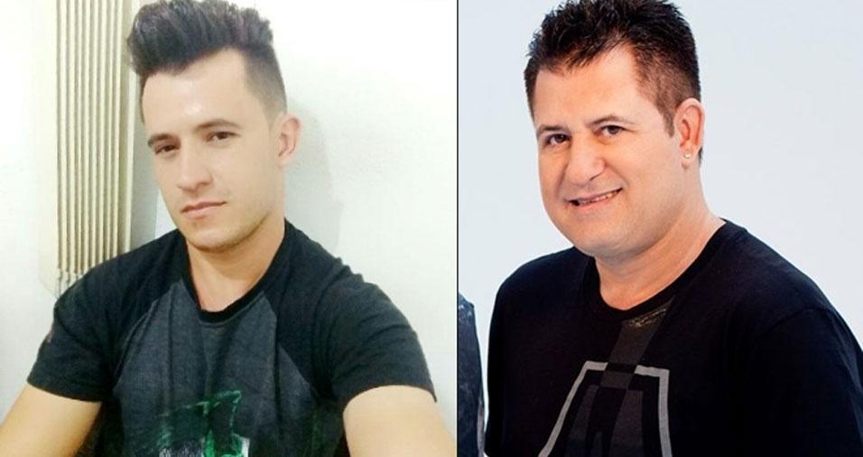 """Samuel Parreiras Belo, de Ibirité (MG), afirma: """"Me pareço com o Marrone"""""""