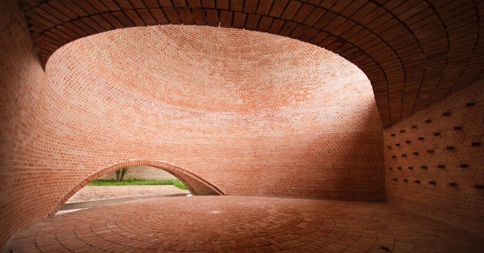 6.mar.2017 - Na categoria Arquitetura Religiosa, o vencedor foi a Capela San Bernardo, projeto do argentino Nicolás Campodonico