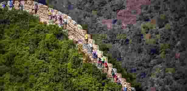 Reprodução/The Great Wall Marathon