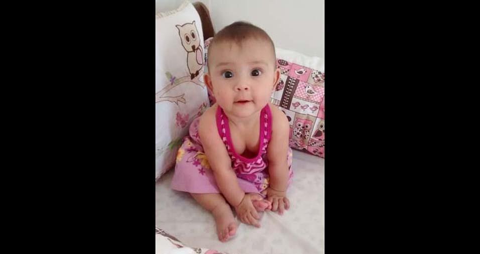 Thais enviou foto da filha Isadora, de Jacareí (SP)