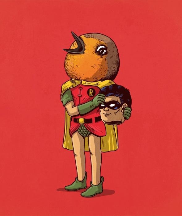 """21.out.2015 - Segundo a série """"Icons Unmasked"""", a verdadeira identidade de Robin não é nenhuma das apresentadas nos quadrinhos da DC Comics"""