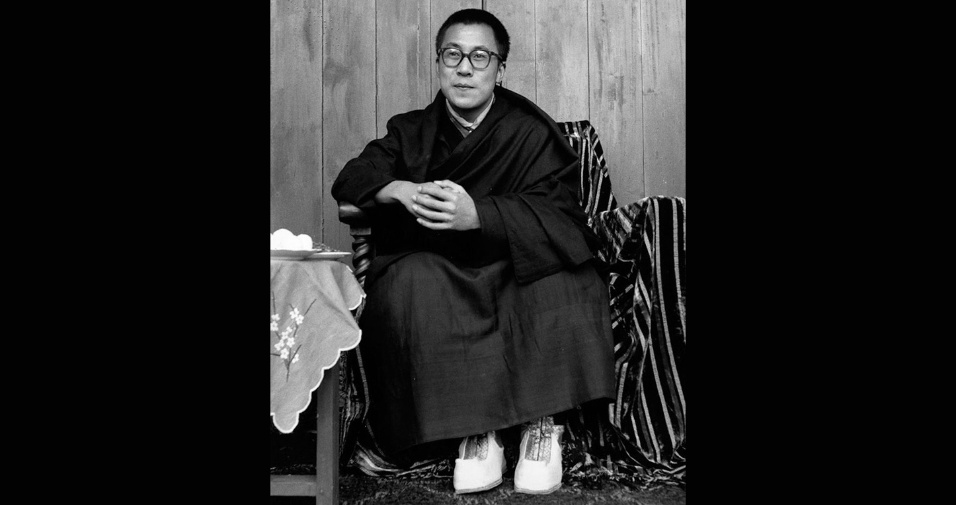 O jovem Dalai Lama