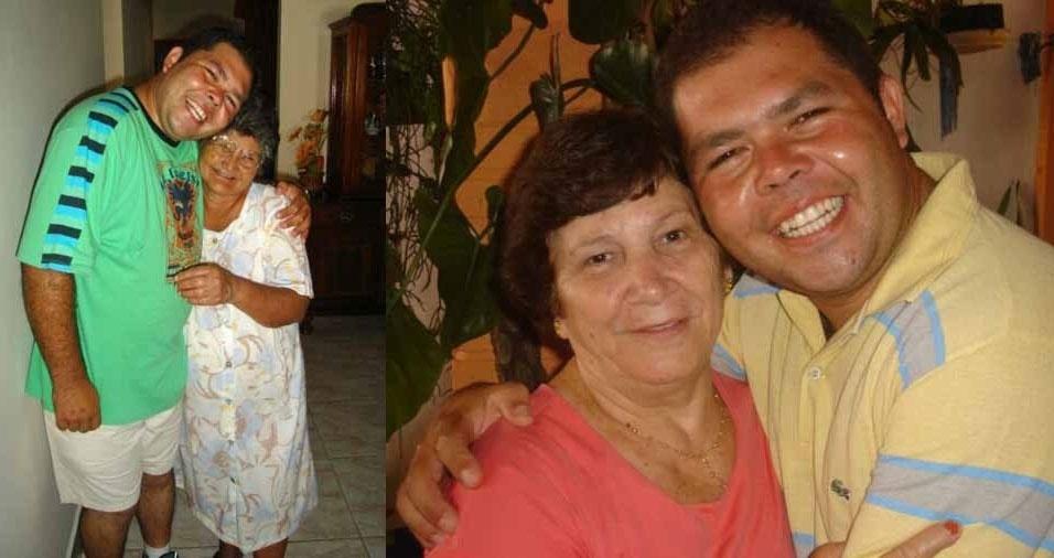 Vanderson de Oliveira, de Barra Bonita (SP), com a avó materna Isabel Oliveira e com a avó paterna Iracy Bordin de Oliveira, ambas de Mineiros do Tietê (SP)