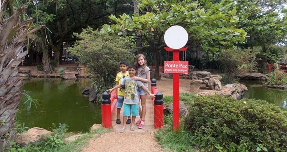 Autuliomar, de Araguaiana (TO), enviou foto dos filhos Carlos Eduardo, João Gabriel e Isadora