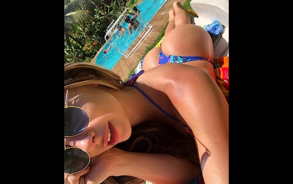 Bruna Rangel Lima é uma musa fitness com carreira próspera