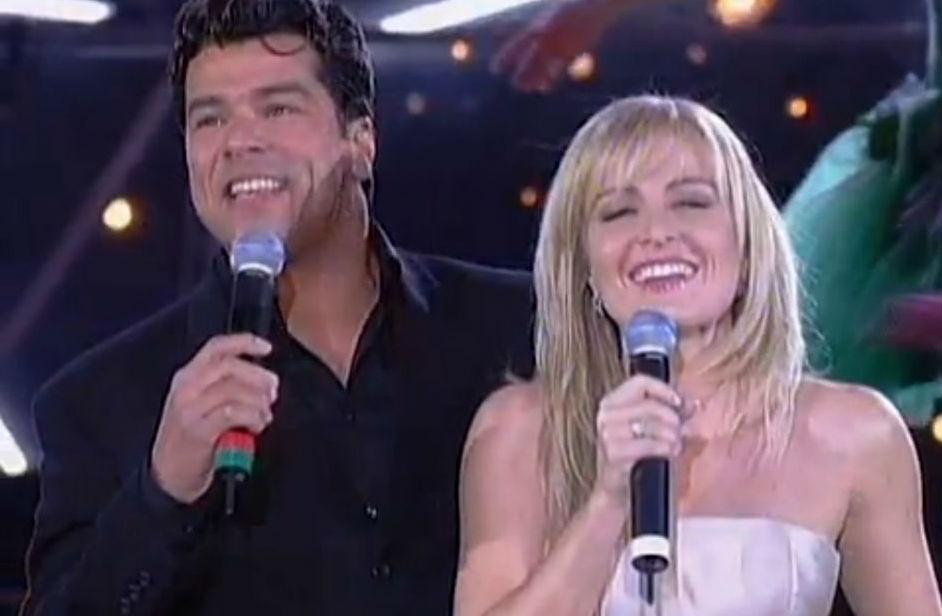 Maurício Mattar e Angélica