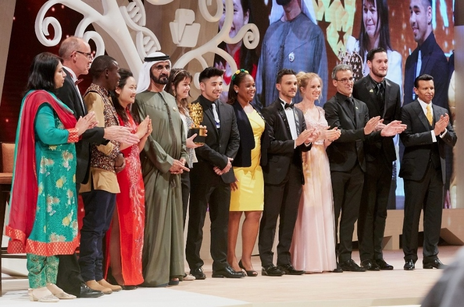 Professor Wemerson no Global Teacher Prize