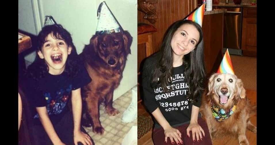 29. Brandy comemorou seu décimo quinto aniversário ao lado de sua dona