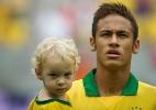 Neymar e seu filho, David Lucca (Divulgação)