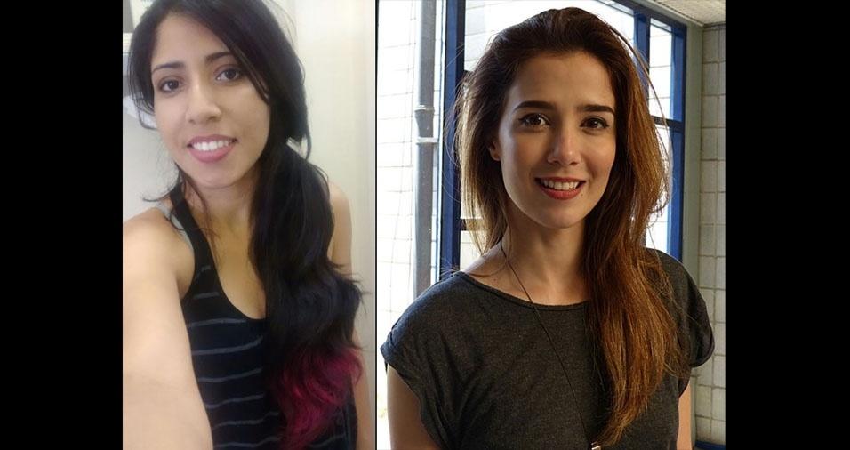 Amanda Ribeiro, de São Paulo (SP), acha que é parecida com a atriz e cantora Marjorie Estiano