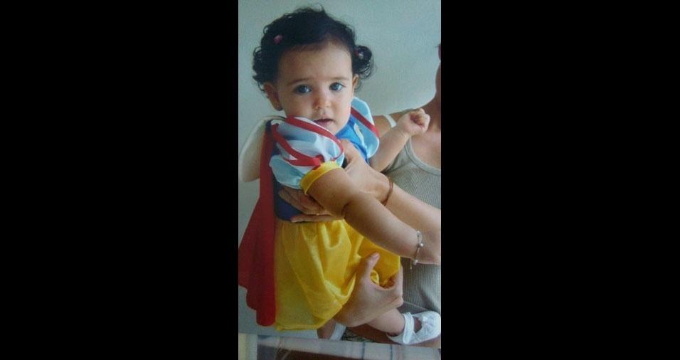 Aucione enviou também foto da filha Kamile
