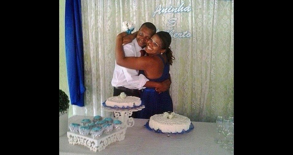 Casamento de Gilberto Macedo Nunes e Maria Aparecida de Moura Lima