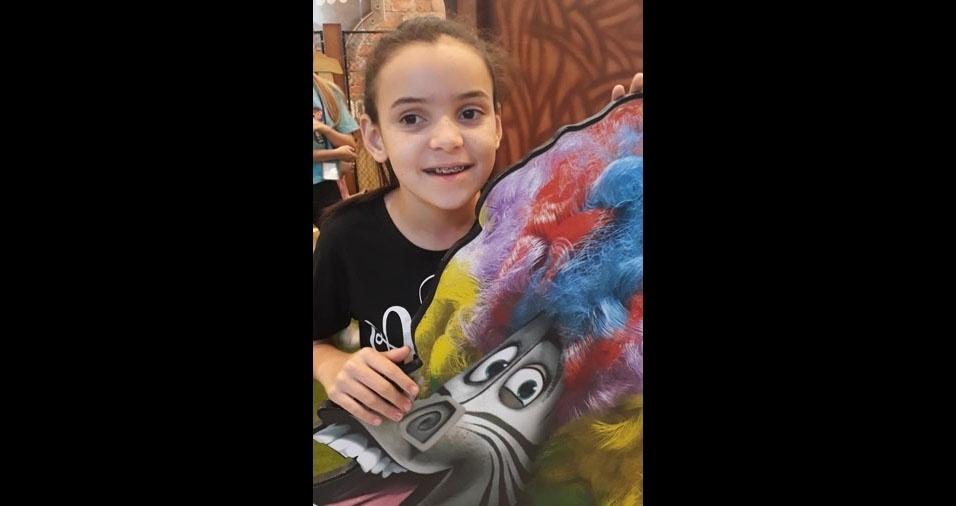 A Thaís Helena Salles, de Santa Bárbada d'Oeste (SP), mandou esta foto da Carolina Vitoria
