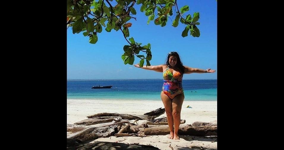 11.jan.2017 - Que lugar lindo! Mariana Xavier apresenta paraíso em viagem no Instagram