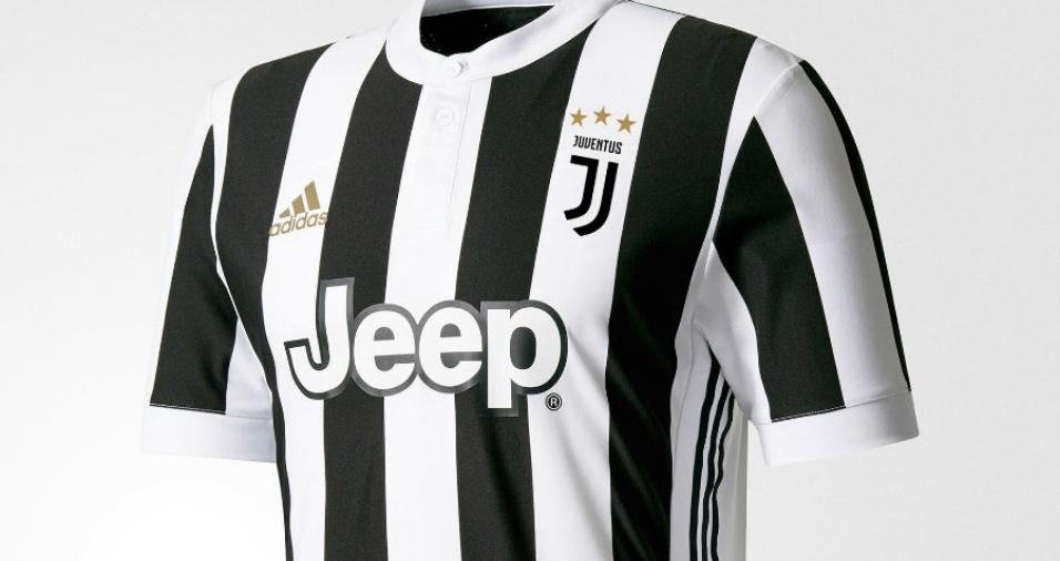 6. Juventus - A Juve modificou totalmente seu escudo para a próxima temporada