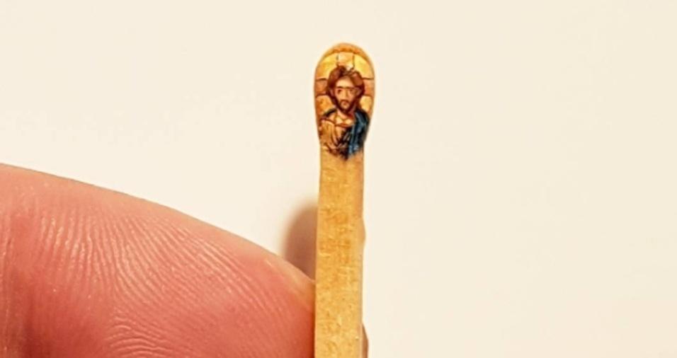 24. Hasan Kale também foi responsável pelo mosaico de Jesus Cristo. Diretamente de A Basílica de Santa Sofia para uma cabeça de fósforo