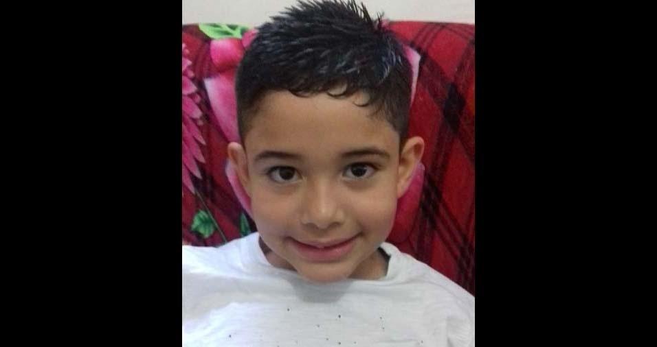Julio, de São Paulo (SP), enviou foto do filho Junior